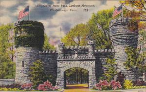 Entrance To Point Lookout Lookout Mountain Chattanooga Tennessee