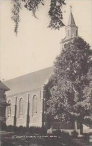 Maine Old Town St Josephs Church