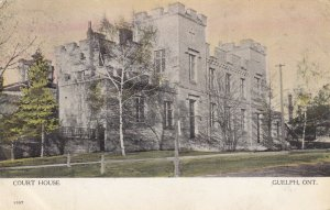GUELPH, Ontario, Canada, PU-1908; Court House