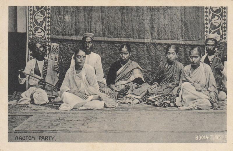 INDIA, 1900-1910's; Nautch Party