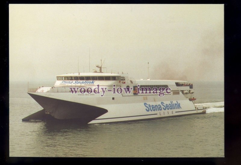 FE3514 - Stena Sealink Line Cat Ferry - Stena Sea Lynx I , built 1993 - postcard