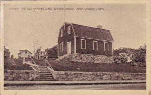 Connecticut New London The Old Nathan Hale School House 1911