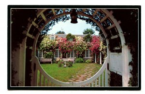 MA - Nantucket Island. Chanticleer Inn Entrance Gate