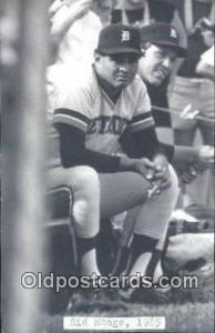 Sid Monge Base Ball Postcard Detroit Tigers Baseball Postcard Post Card  Sid ...