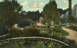 OH - Dayton. Lily Pond, Soldiers' Home