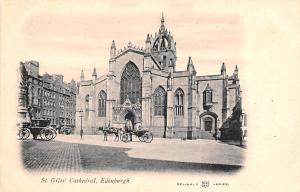 Scotland, UK Old Vintage Antique Post Card St Giles' Cathedral Edinburgh...