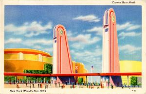 NY - New York World's Fair, 1939. Corona Gate North