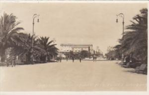 Uruguay Montevideo Independence Square Real Photo