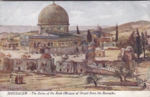 Tucks Jerusalem Dome Of The Rock Mosque Of Omar From The Barracks The Holy La...
