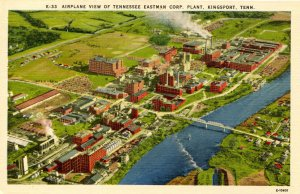TN - Kingsport. Tennessee-Eastman Corp. Plant
