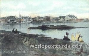 United Kingdom, UK, England, Great Britain Saltcoats Harbour Bay Harbour Bay ...