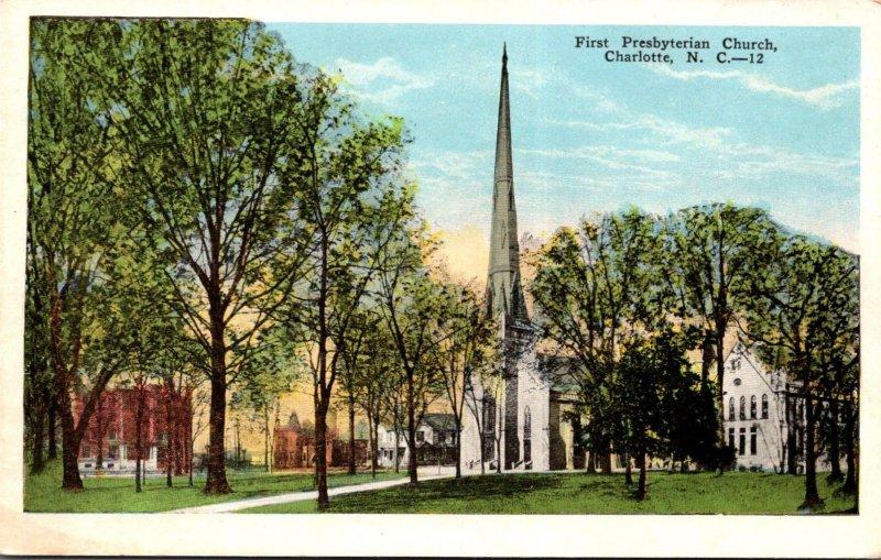 North Carolina Charlotte First Presbyterian Church