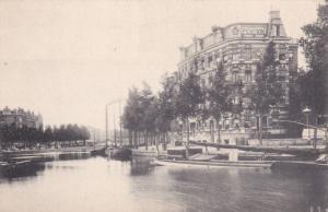 AMSTERDAM, North Holland, Netherlands, 1900-10s; Lutkie's Hotel Pension Inter...