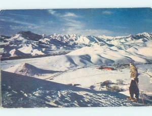 Unused 1950's SKIING SUN VALLEY Sun Valley Idaho ID ho8266@
