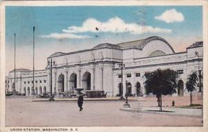 Union Station Washington D C 1917