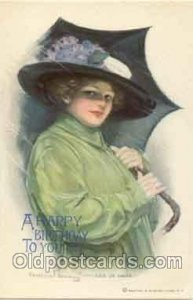 Artist Signed Clarence Underwood (USA) Series 349 Unused