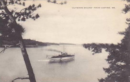Maine Castine Outward Bound From Castine Artvue