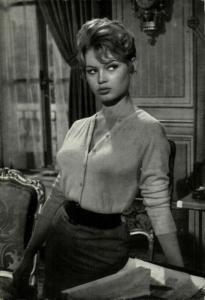 French Actress Brigitte Bardot (1960s) Postcard (1)