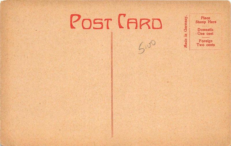 G88/ Sunbury Pennsylvania Postcard c1910 Fort Agusta Building