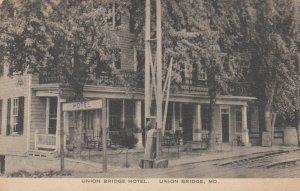 UNION BRIDGE , Maryland, 1900-10s ; Union Bridge Hotel