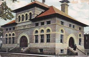 Maine Lewiston Post Office 1907