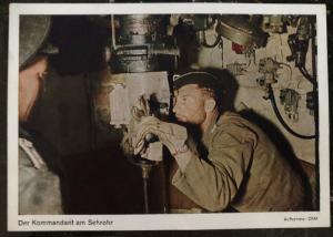 Mint Germany Real Picture Postcard the commander at the sight tube