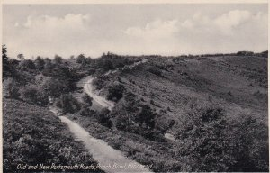 ENGLAND, 1900-1910s; Old And New Portsmouth Road, Punch Bowl, Hindhead