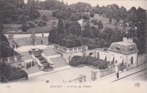 France Rennes L'entree du Thabor