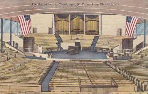 New York Chautauqua The Amphitheatre On Lake Chautauqua 1950