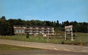 Wandlyn Inn Motel at Woodstock NB, New Brunswick, Canada