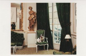Moujik IV The Foundation Paris Berge Yves Saint Laurent Dog Postcard