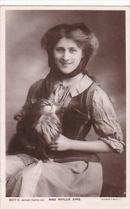 Miss Phyllis Dare 1907 Real Photo