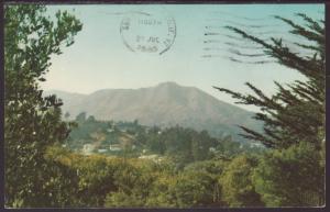 Mount Tamalpias,CA Postcard BIN