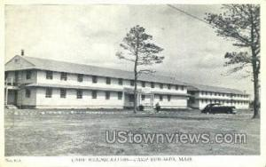 Camp Headquarters Camp Edwards MA Unused