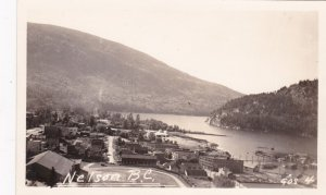 RP; Aerial View of NELSON, British Columbia, Canada, 10-20s