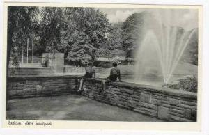 RP: Park & Fountain / Altec Stadtpack,Bochum,Germany 1930-40s