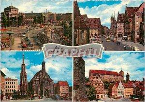 Postcard Modern Nurnberg