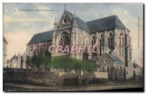 Postcard Old St Nazaire L & # 39Eglise