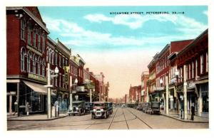 Virginia  Petersburg , Sycamore Street