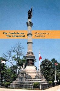 Alabama Montgomery The Confederate War Memorial