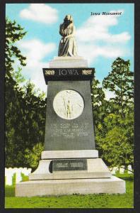 Iowa Monument Americus Georgia Unused c1955