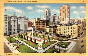 California San Francisco Union Square