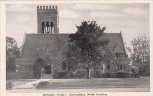 North Carolina Rockingham Methodist Church