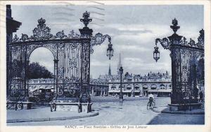 France Nancy Place Stanislas Grilles de Jean Lamour 1934