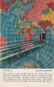 Massachusetts Boston Christian Science Publishing House Mapparium Eastern Hem...