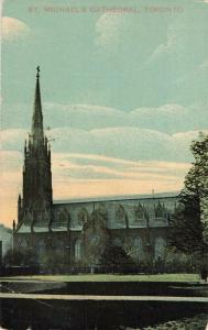 Postcard Michael's Cathedral Toronto