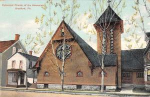 Bradford Pennsylvania Episcopal Church Ascension Antique Postcard K45889