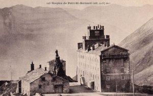 Hospice Du Petit St Bernard Old French Postcard