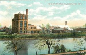 1907 American Tin  Plate Canal Dover Ohio Factory Industry Souvenir 6582