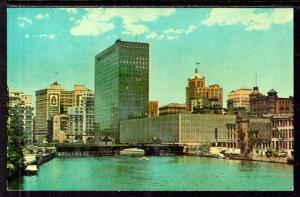 The Milwaukee River,Milwaukee,WI BIN
